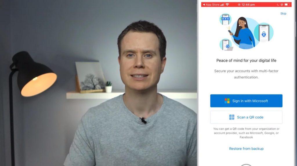 Setup Microsoft Authenticator